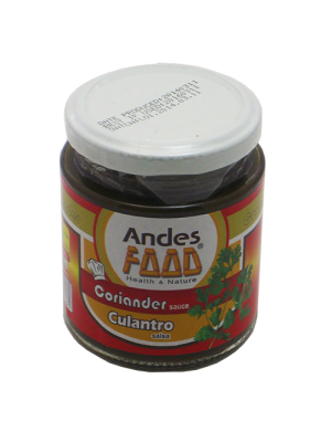 Culantro Salsa 220g ANDES FOOD'S
