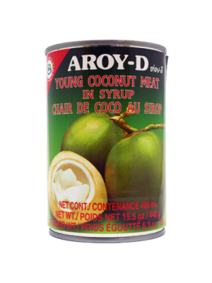 AROY-D COCONUT MEAT 425g