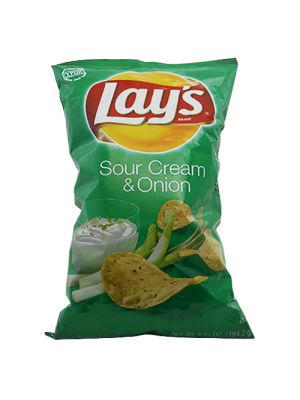 Lays  Sour Cream &Onion  184.2g FRITOLAY